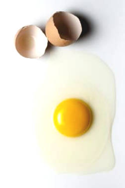 Is it safe and healthy to eat raw eggs?