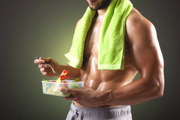 Proper nutrition before exercise